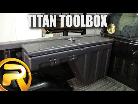 How to Install Titan Side Bed Wheel Well Toolbox