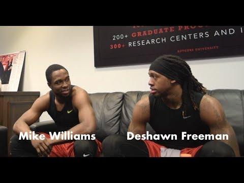 Mike Williams & Deshawn Freeman Talks Change At Rutgers & Preparing Final Year