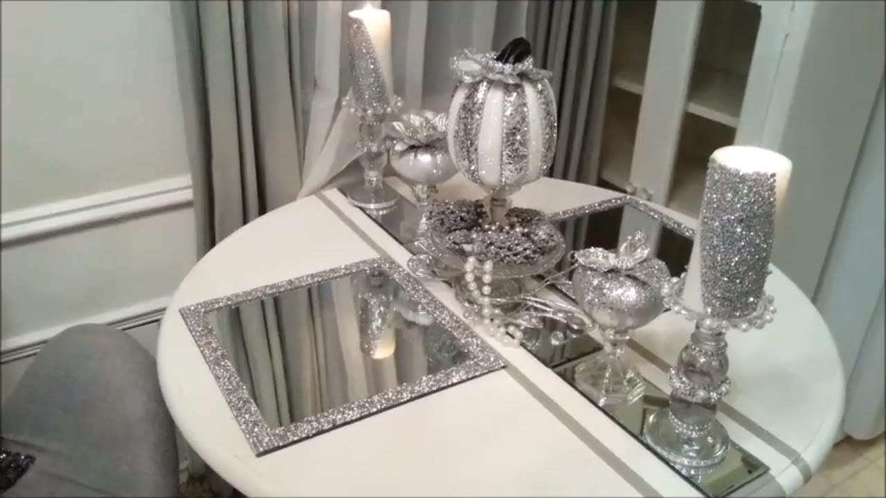Z Gallerie Inspired Glass Placemats Youtube