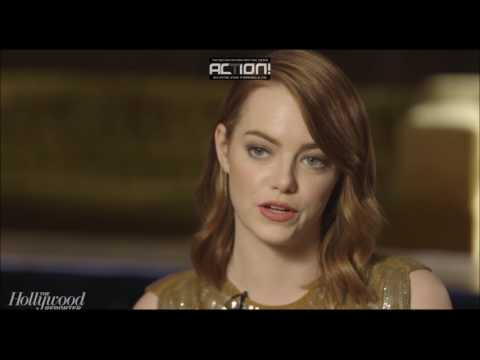 Fishing for answers with Emma Stone - The Hollywood Reporter