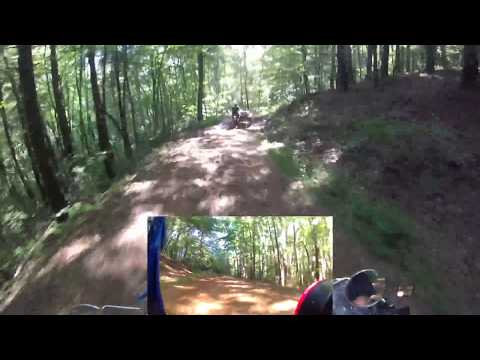 Ural Sidecars on Chattahoochee National Forest Service Road 35