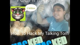 How To Hack My Talking Tom No Root.....