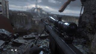 Один Выстрел, Один Труп ! Красивая Снайперская Миссия из Call of Duty Modern Warfare Remastered