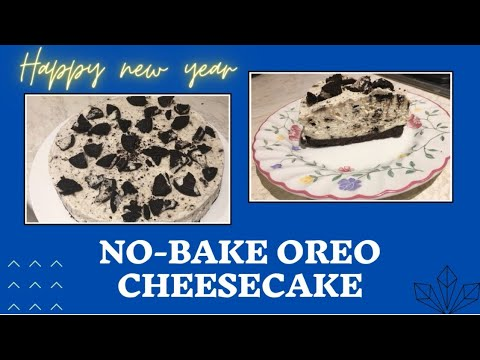 No-bake Oreo cheesecake without gelatin