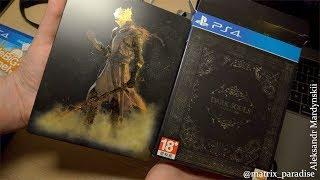 Dark Souls Trilogy SteelBook Unboxing PlayStation 4 і трохи ігор з китайського ринку електроніки!