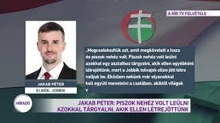 Jakab Péter: Piszok nehéz volt leülni azokkal tárgyalni, akik ellen létrejöttünk