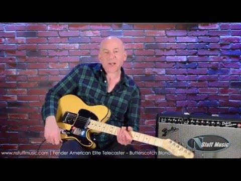 Fender American Elite Telecaster - Butterscotch Blonde   N Stuff Music