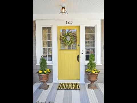 The Monogram Doormat For Your Door Entyway Decor