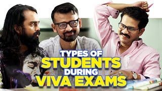 ScoopWhoop: Types Of Students During Viva Exams