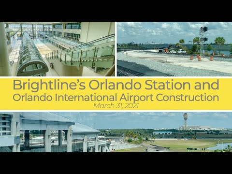 Brightline's Orlando Station