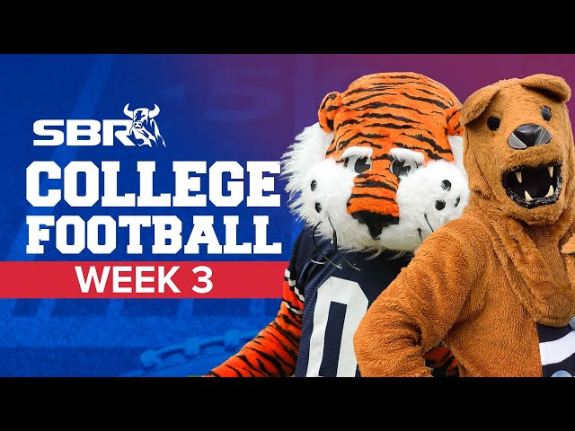 College Football Week 3 Preview 🏈 | NCAA Odds, Picks and Updates