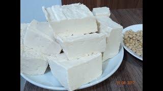ĐẬU HỦ - Món Chay - Cách đơn giản để tự làm Đậu Hủ, Tofu tại nhà với Giấm 25% và Muối by Vanh Khuyen