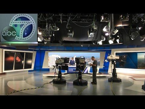 Thăm KABC News ở Los Angeles