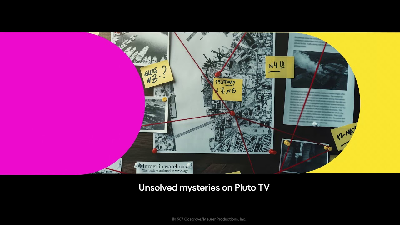 Pluto TV - Drop in for Whodunnit