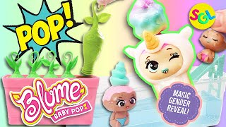 🎉 POP! Gender Reveal Party 🎉 Blume Baby POP Surprise Dolls | Toy Unboxing by Smiles Giggles Laughs