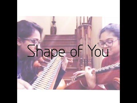 Ed Sheeran - Shape of You - Cover I Veena Thambaps
