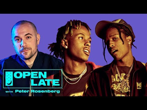 "A$AP Rocky and Rich The Kid join Peter Rosenberg for debut episode of ""Open Late"""