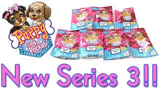 Puppy In My Pocket Series 3 New Blind Bags Opening Rare and Ultra Rare Hunt!