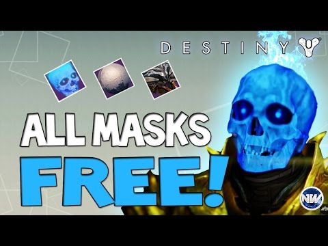 Destiny How to Get All Halloween Masks for FREE! Easy Candy Farming Location!