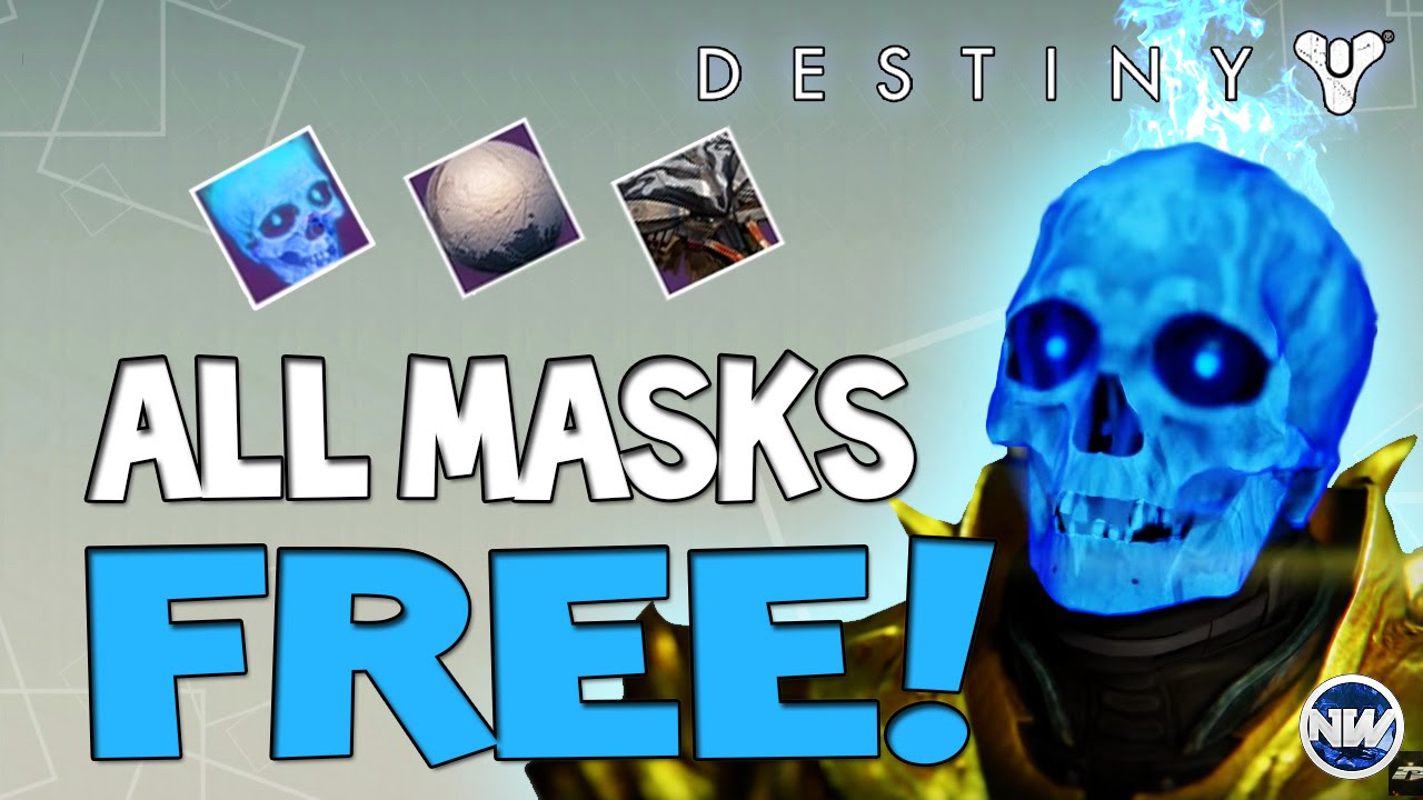 Destiny How to Get All Halloween Masks for FREE! Easy Candy ...