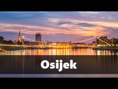 Osijek |Timelapse video of Croatian Rhapsody| HD 2017