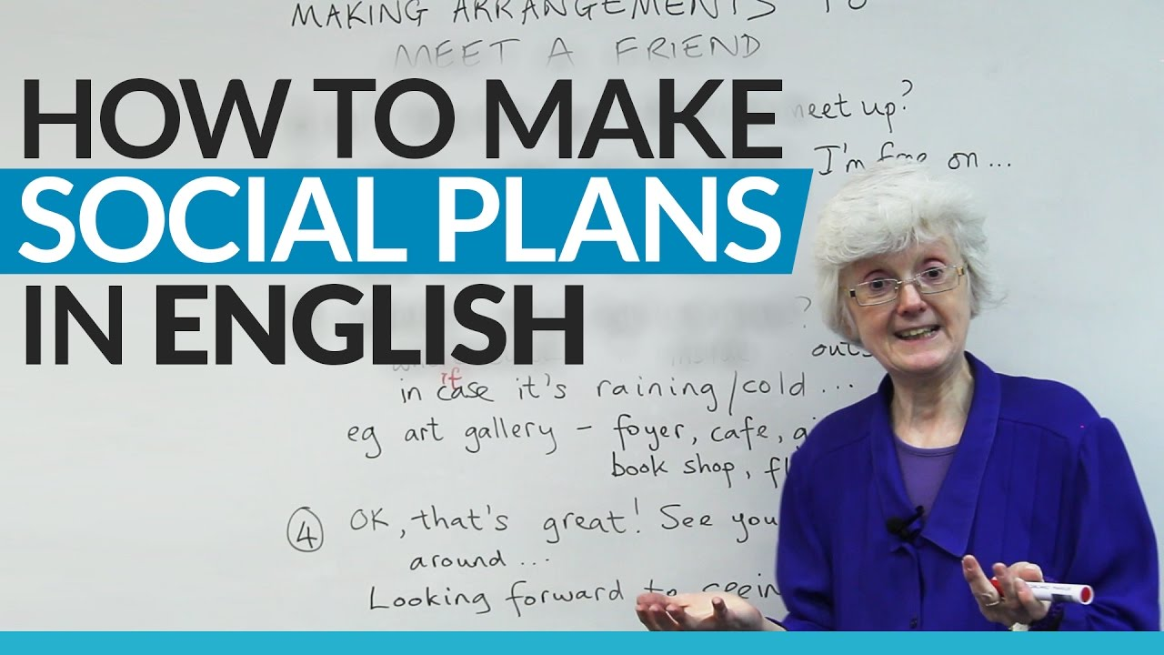 Real English: Using WHEN & WHERE to Make Plans