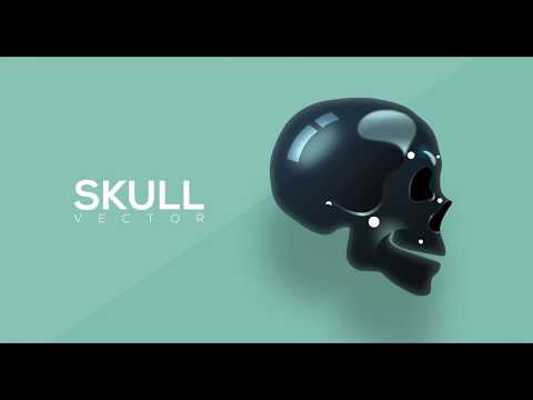 illustration:-create-a-vector-skull-(beginner)-|-freepik