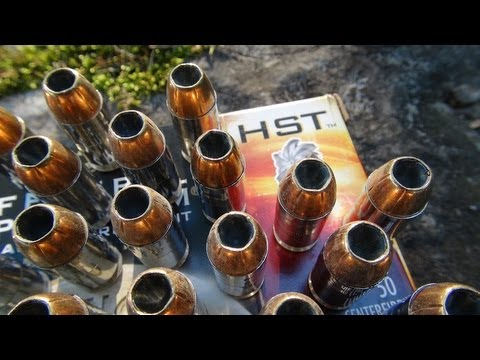 .45 ACP Federal HST 230 gr Ammo Gel Test