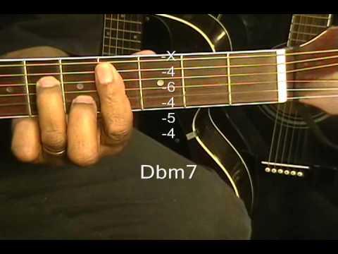 How To Play Guitar Chords Tutorial 52 Em7 Cmaj7 Bm11 No Capo Capo