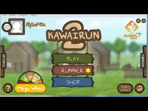 Kawairun 2 Account Giveaway! lvl 1000 + 22 spins bcoins are wasted in vid.