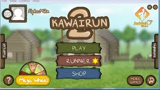 Repeat youtube video Kawairun 2 Account Giveaway! lvl 1000 + 22 spins bcoins are wasted in vid.