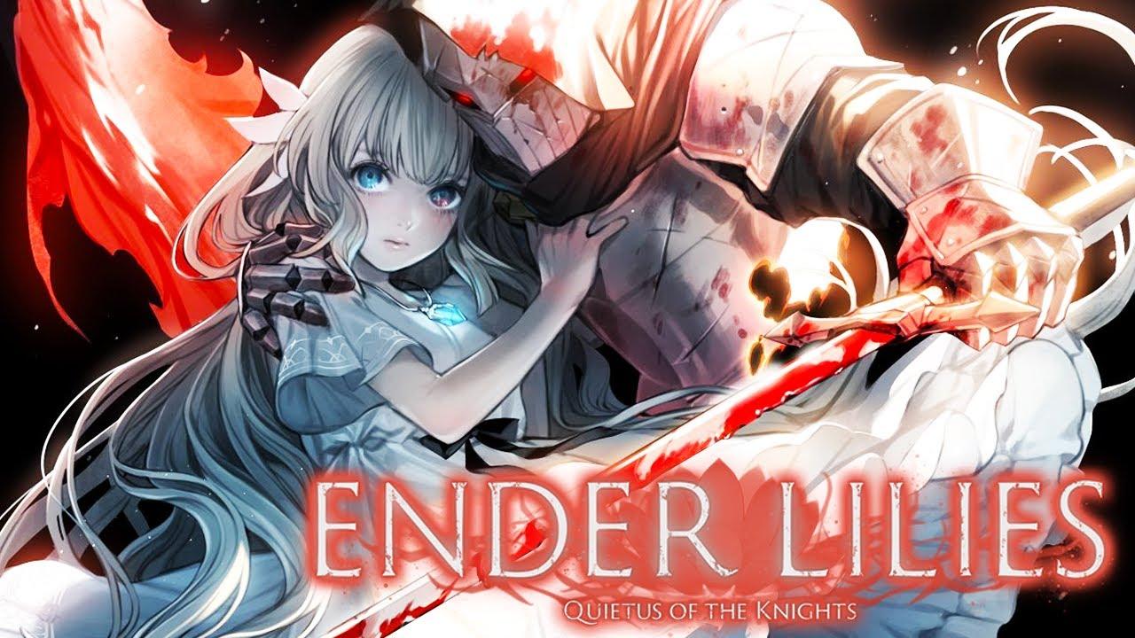 Ender Lilies Quietus of the Knights - Metroidvania ANIMAL!!! [ PC - Gameplay 4K ]