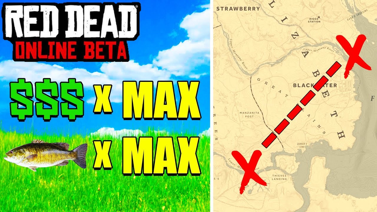 New Two Easy Money Locations In Red Dead Online Rdr2 Unlimited Fish Glitch
