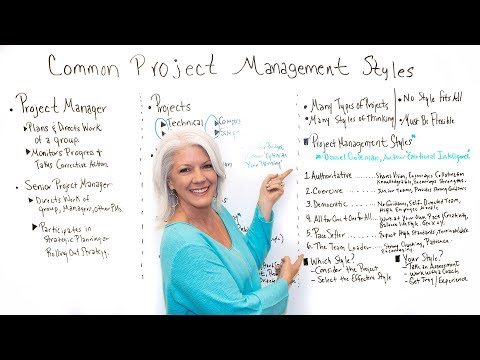 Common Project Management Styles - Project Management Training