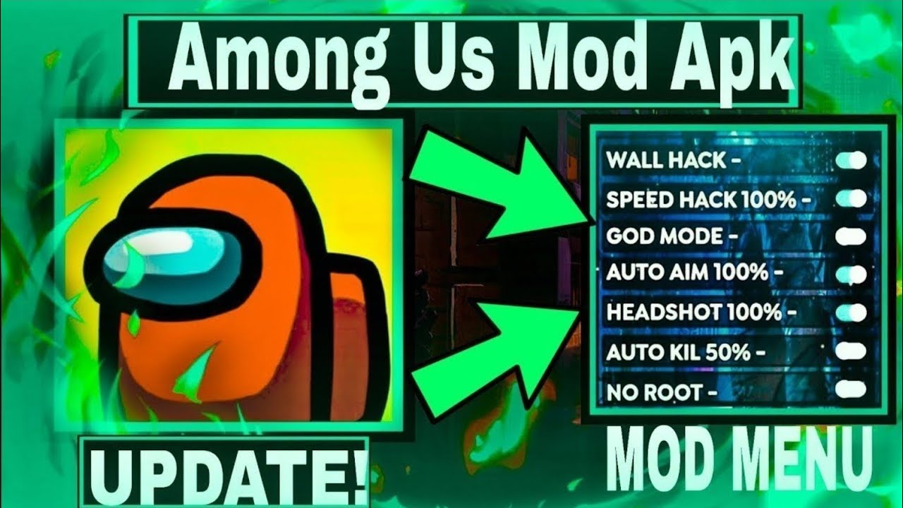How To Download Among Us Mod Apk Mod Menu Always Imposter Youtube