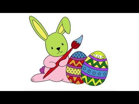 Tavşan Boyama Tavşan Boyama Videosu çocuklar Için çizim Youtube