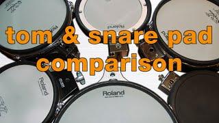 Roland snare noises comparison