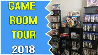 Games Collection Room Tour (2018 Edition)