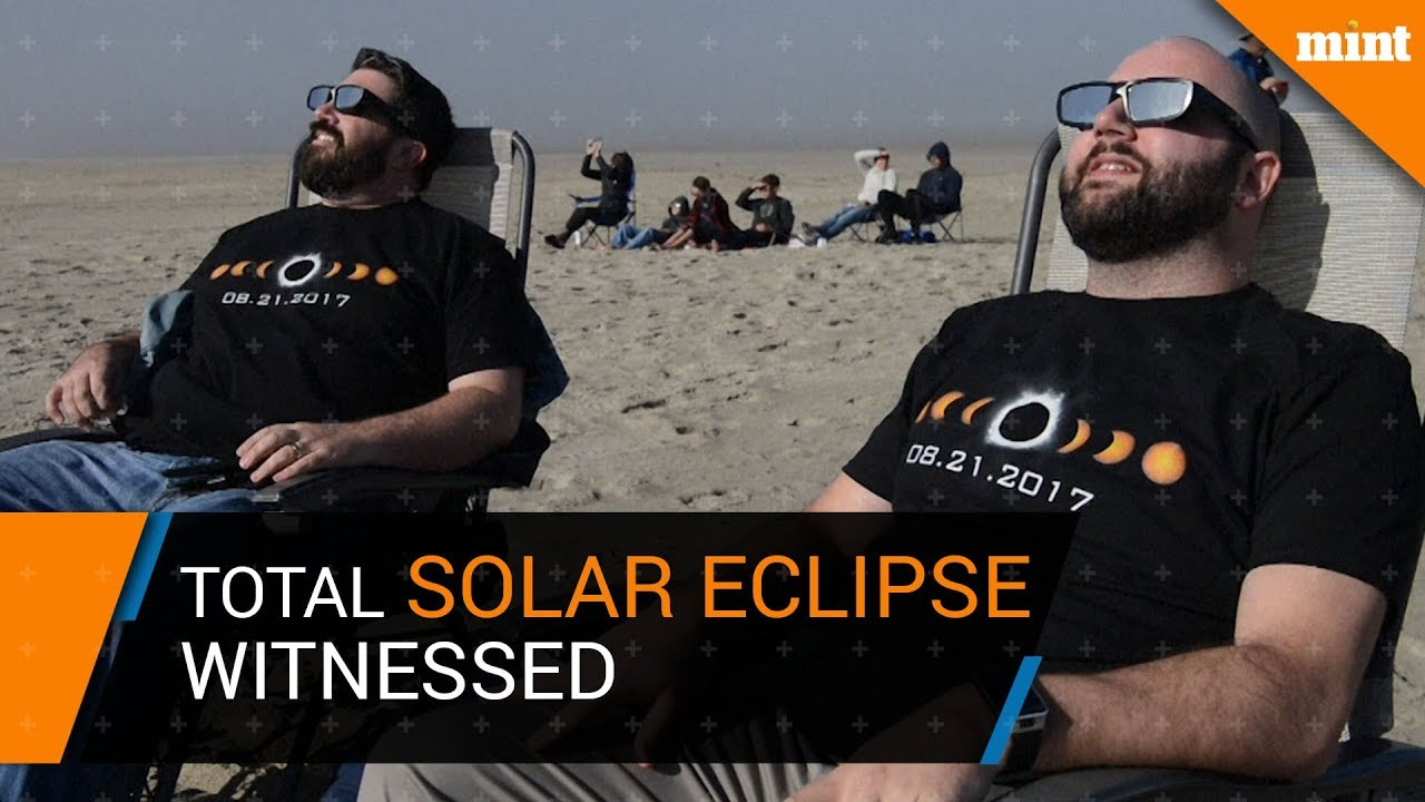 Total Solar eclipse witnessed across North America