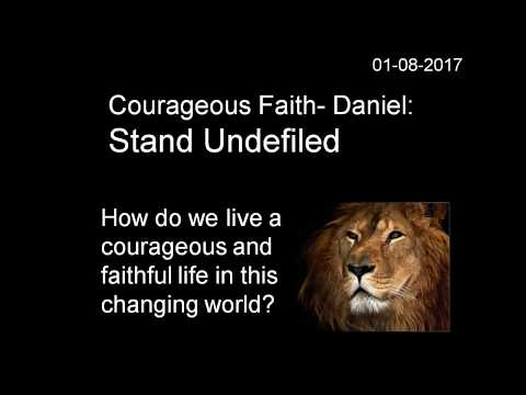 Courageous Faith: Stand Undefi...
