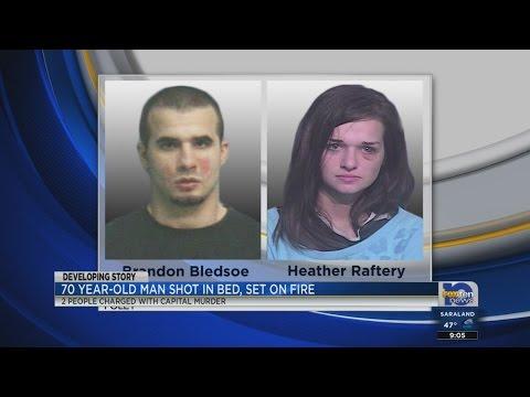 Arrest in murder and arson case