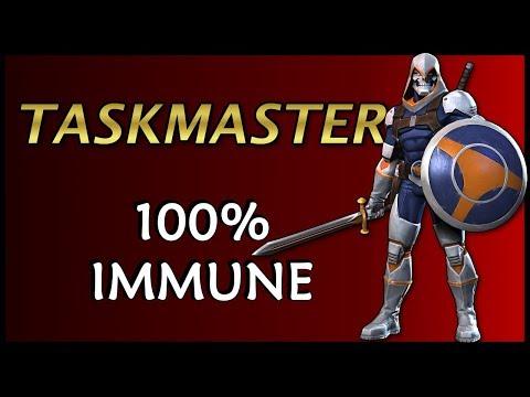 Taskmaster Full Immunity | Marvel Contest of Champions