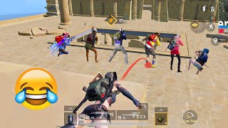 Trolling Noobs In Ancient Secret Mode 🤣😂 | PUBG MOBILE FUNNY MOMENTS