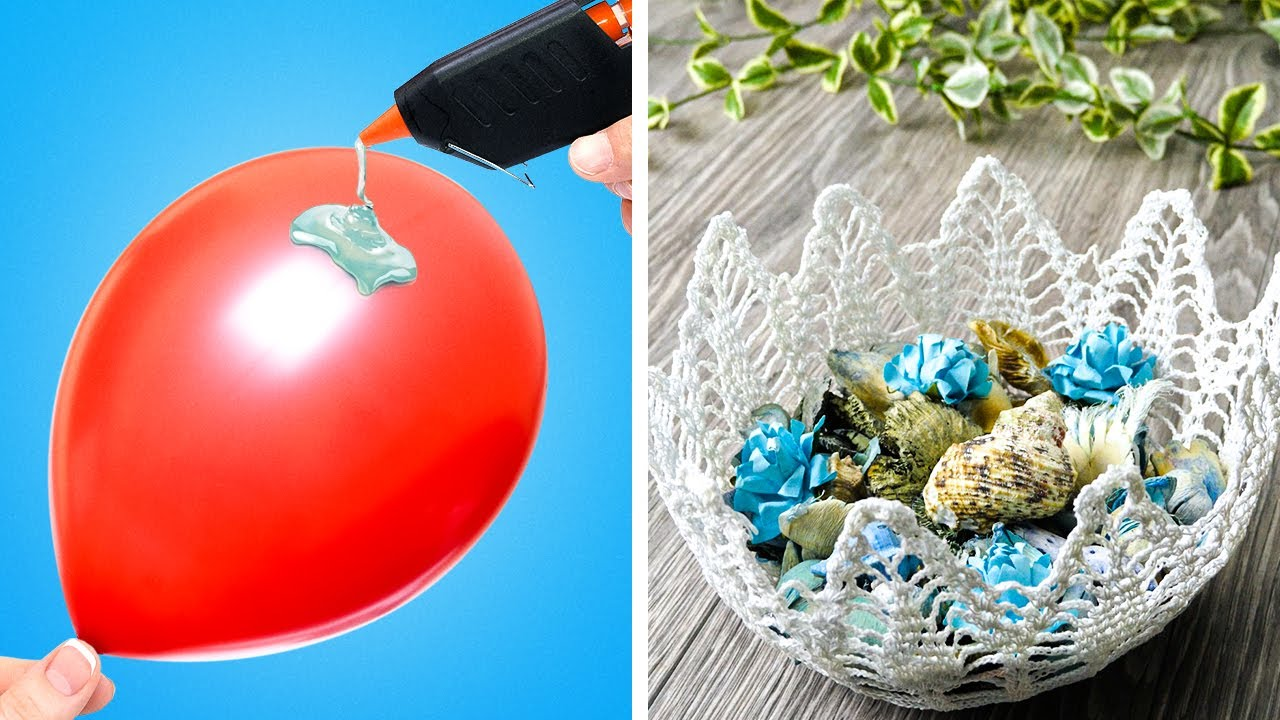 28 AMAZING DIY BOWL IDEAS    Cute Crafts For Home by 5 ...