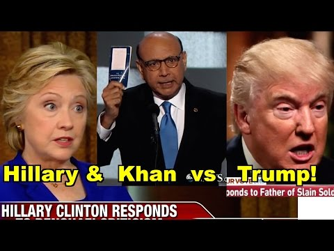 Hillary, Khan v Trump, Assange - Donald Trump, Khizr Khan & MORE! LV Sunday Clip Roundup 171