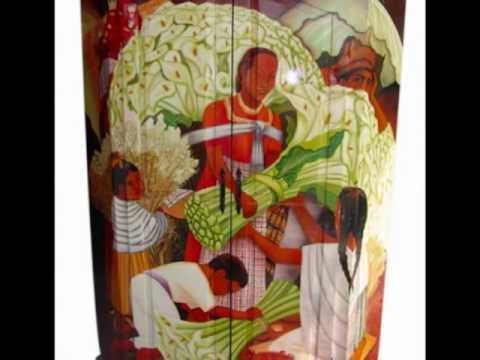 Muebles rusticos decorados youtube for Muebles rusticos mexicanos