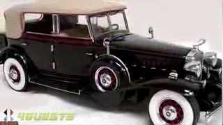 Franklin Mint Diecast, Al Capone's 1930 V16 Cadillac Imperial Sedan 1:24 Scale
