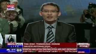 Debat Capres 2014: Pernyataan Penutup Prabowo dan Jokowi