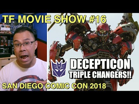 Shatter and Dropkick are TRIPLE CHANGERS - [TF MOVIE SHOW #16]