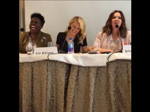 Ghostbusters Q&A With Melissa McCarthy, Kate McKinnon, Leslie Jones & Paul Feig